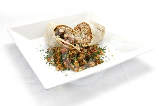 Chicken Teriyaki Wrap 3897