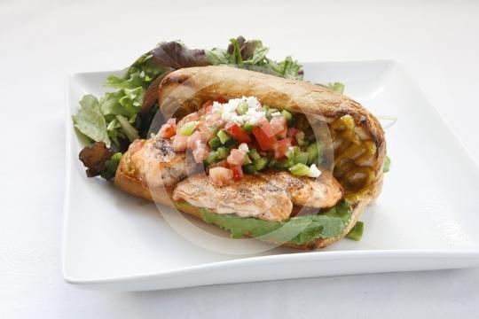 Salmon Sandwich 3866